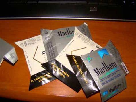 yutube com hacer cartera como hacer cartera con cajetillas de cigarro youtube
