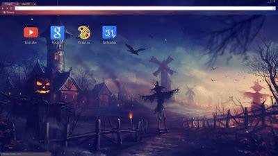 halloween themes chrome halloween chrome themes themebeta