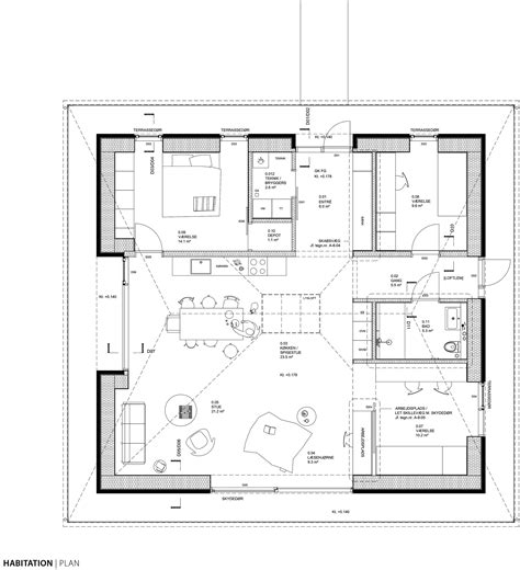 brick home floor plans gallery of brick house leth gori 19