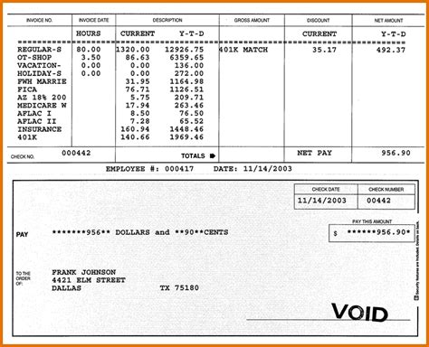 Paycheck Stub Generator Autos Post Free Paystub Maker Template