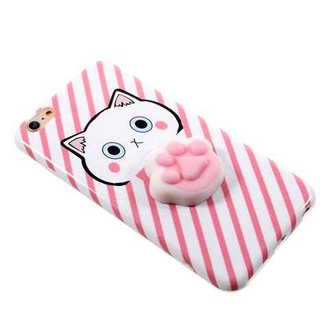 Squishy Cat Claw For Iphone 6 6s Omscr7bl bakeey 3d squishy squeeze rising cat claws soft tpu for iphone 6 6s 6plus
