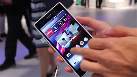 Xperia Z1 White Color Hands on!! - YouTube Xperia U White Hands On
