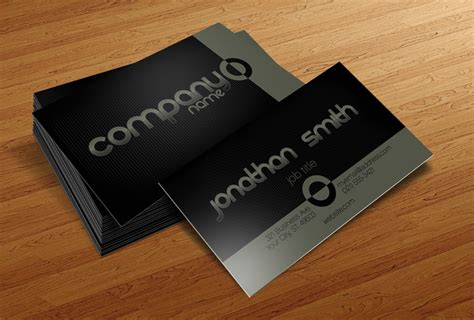 basic business card template 50 best free psd business card templates