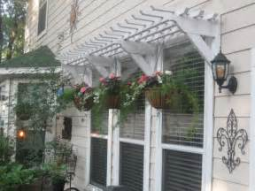 how to build a wood awning remodelaholic 25 inspiring outdoor window treatments