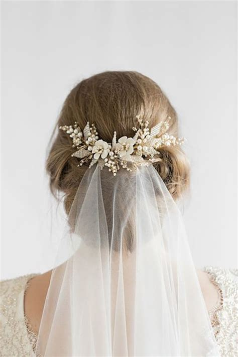 Wedding Hair Veil Pictures by Best 25 Veil Hairstyles Ideas On Wedding
