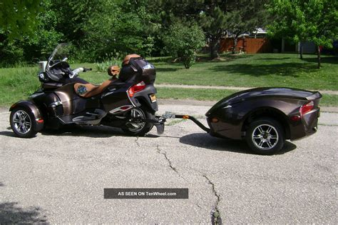 2012 can am spyder rt limited se5 with matching trailer