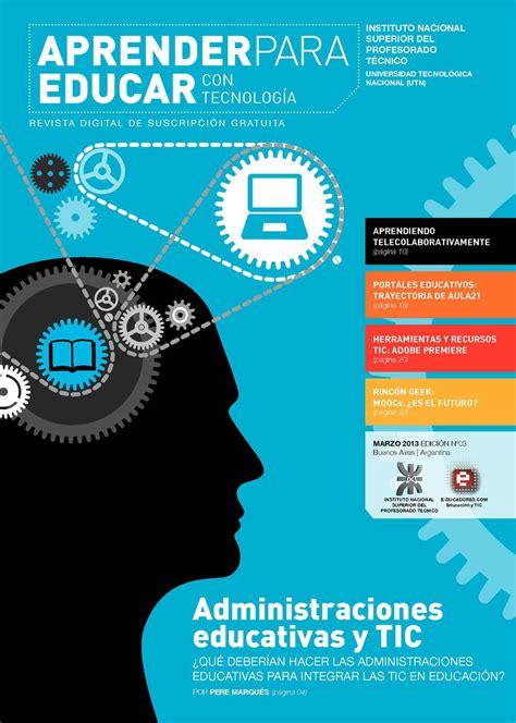 imagenes de revistas virtuales calam 233 o revista quot aprender para educar con tecnolog 237 a