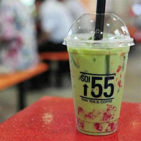 Thai Tea Milk Green Tea 1 soi 55 golden shoe food centre singapore burpple