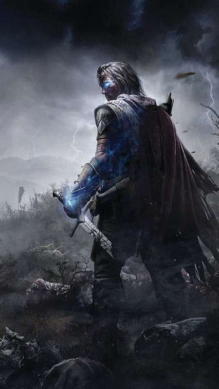 game wallpaper vertical middle earth shadow of mordor wallpapers or desktop
