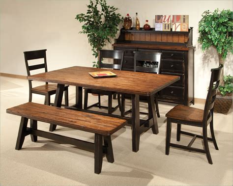 casual dining sets with bench casual dining tables fiin info