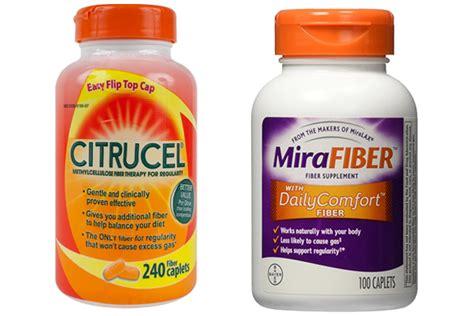 Which Is Better Fiber Supplement Psyllium Or Methylcellulose - citrucel vs mirafiber puresafediet