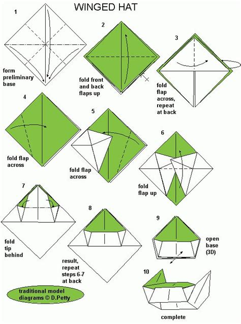 How To Make Origami Hats - 17 best images about paper hats on traditional