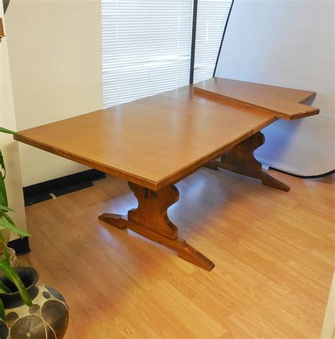 Dining Table With Leaf Insert Tell City Andover Maple Dining Room Table With Insert Leaf