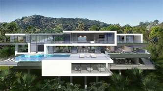 two modern mansions on sunset plaza drive in la 3 homedsgn
