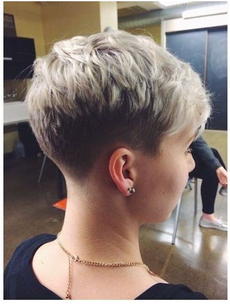 pin it hair cuts for woman in there late 50 nice taper undercut and buzzed pixie cuts pinterest