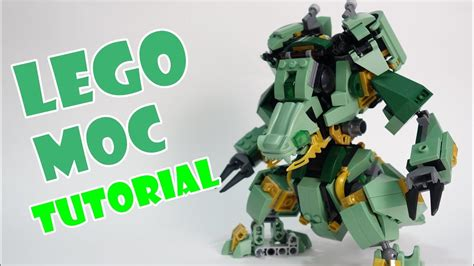 lego watch tutorial lego ninjago set 70612 alternate build dragon mech suit