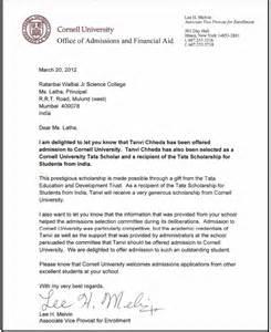 Appreciation Letter University stanford acceptance letter 2013 appreciation letters