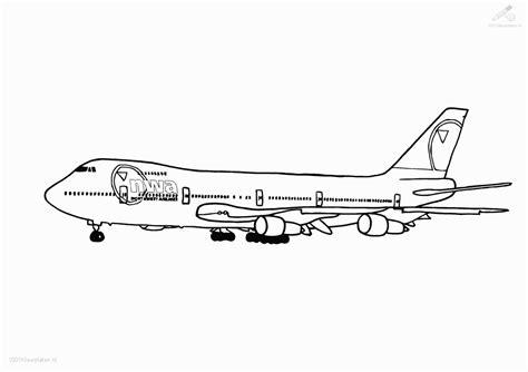 787 Coloring Page by Kleurplaat Boeing 747