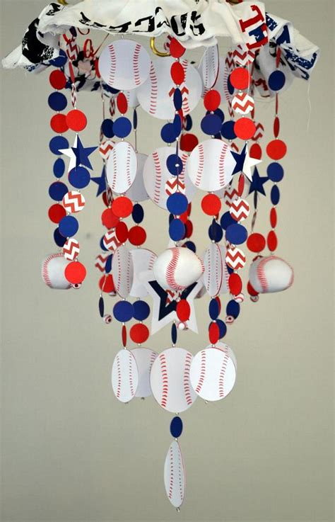 Baseball Crib Mobile by Sports Baseball Crib Mobile Nursery Decor Baby Sastaras