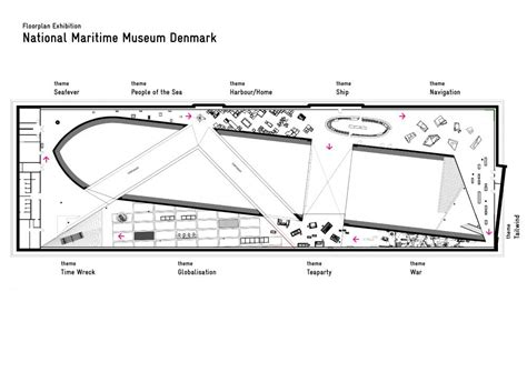 Floor Plans For Classrooms danish national maritime museum in helsing 248 r denmark by