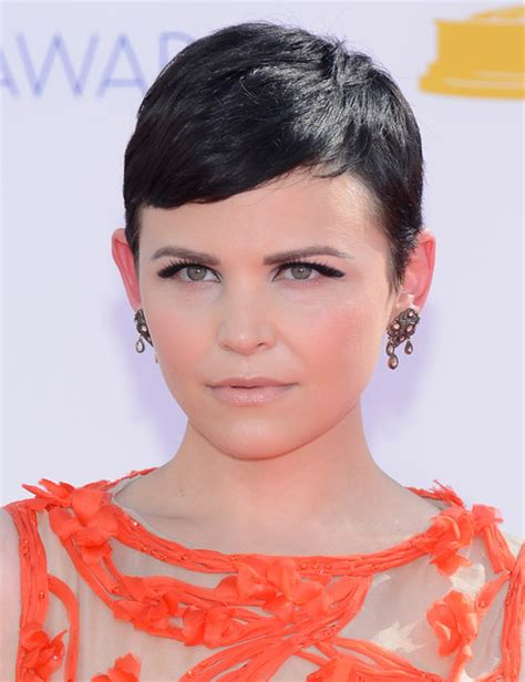 pixie cut big ears ginnifer goodwin photos photos 64th annual primetime