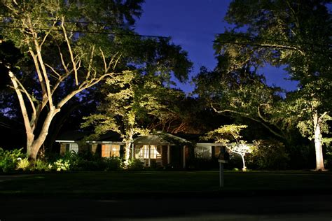 lights on landscape landscape lighting ideas designwalls