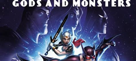 review film justice league gods and monsters 2015 blu ray review justice league gods and monsters