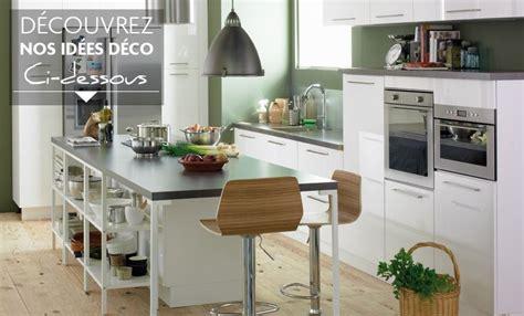 style id 233 e d 233 co cuisine gris et blanc