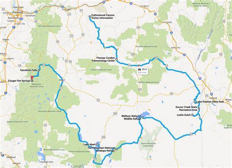 map of oregon deserts oregon desert map swimnova