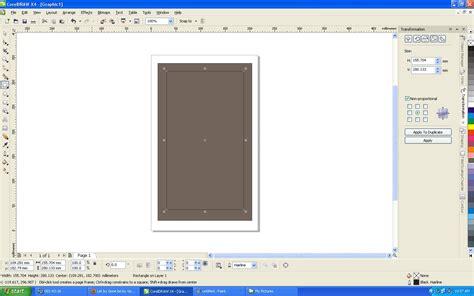 membuat watermark pada corel teknologi cara membuat bingkai pada corel draw