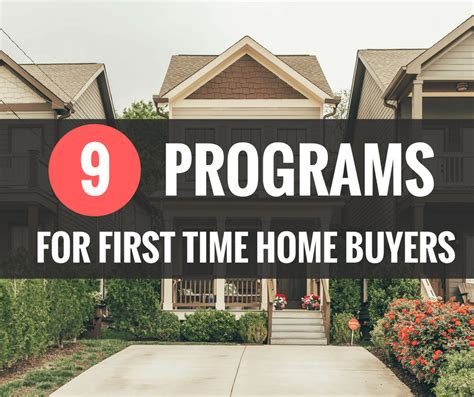 Government Programs For Time Home Buyers by Buyer Programs Layson