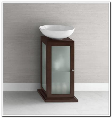 pedestal sink cabinet the size of small pedestal sink midcityeast