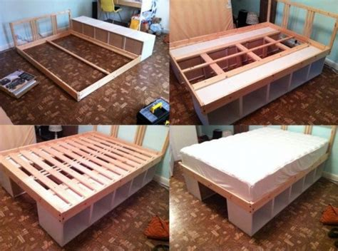 Diy Storage Bed Ideas For Small Places Diy Craft Ideas Diy Bed With Storage