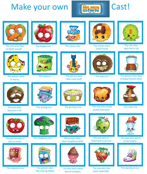 Isabelle's Blog world of toy: My Mr Men Show The Grossery