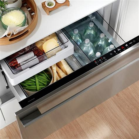 Cool Drawer Fridge by 1000 Ideas About Integrated Fridge On Larder