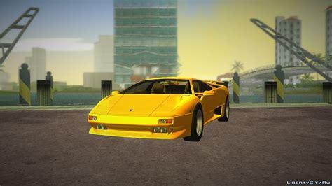 Lamborghini Diablo Vttt Lamborghini Diablo Vttt Quot Black Revel для Gta Vice City