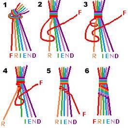 make a peace friendship bracelet styles patterns history