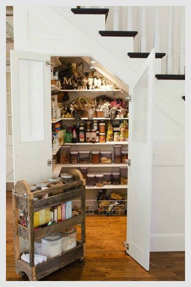 Stairs Pantry Ideas by 10 Stair Storage Ideas For Your Home Just Diy Decor