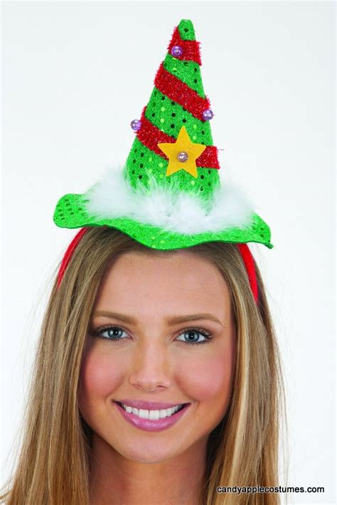 light up christmas tree headband candy apple costumes
