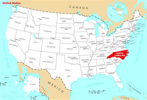 where is carolina on the map where is carolina located mapsof net