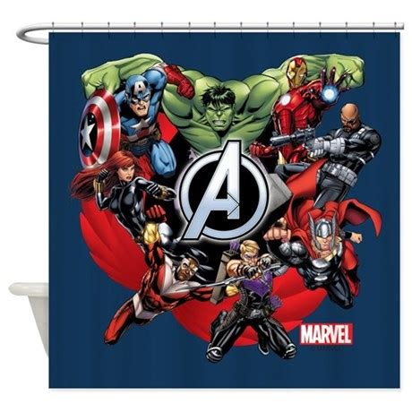 avengers shower curtain the avengers gifts merchandise the avengers gift ideas