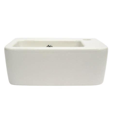 bathroom sink brands alfi brand ab101 small white wall mounted ceramic bathroom