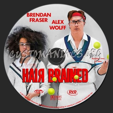 hair brained download hair brained dvd label dvd covers labels by