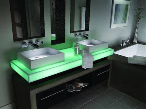 Corian Light by Corian Countertop With Led Lights Master Bathroom