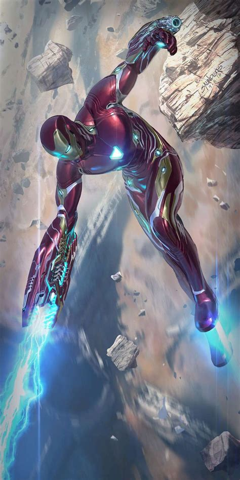 mark iron man canon fire iphone wallpaper iphone