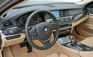 2012 bmw 5 series interior photo