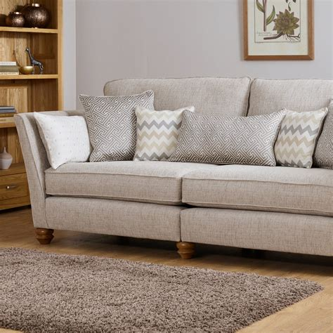 oak furniture land sofa gainsborough 2 seater sofa in beige by oak furniture land