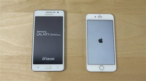 samsung galaxy grand prime vs iphone 6 which is faster