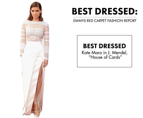 kate mara naked house of cards best dressed emmys red carpet fashion report obsessed magazine
