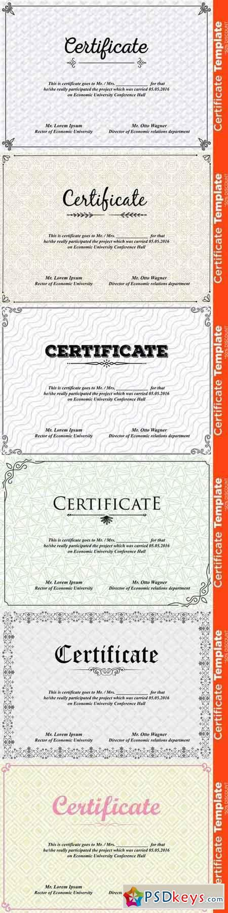 certificate template psd 677908 187 free download photoshop